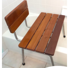 Teak Wood Portable Tub Shower Transfer Bench