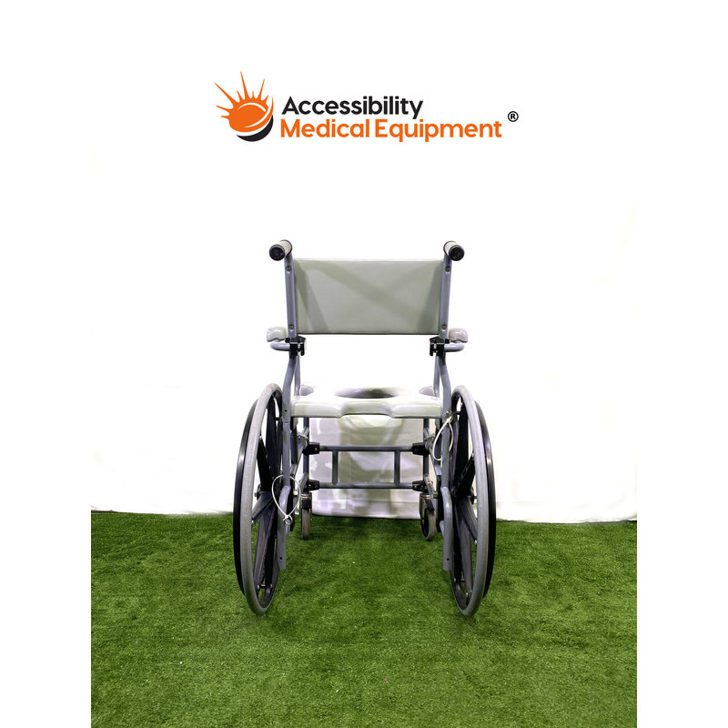 Refurbished Advacare Shower Chair with Commode Opening