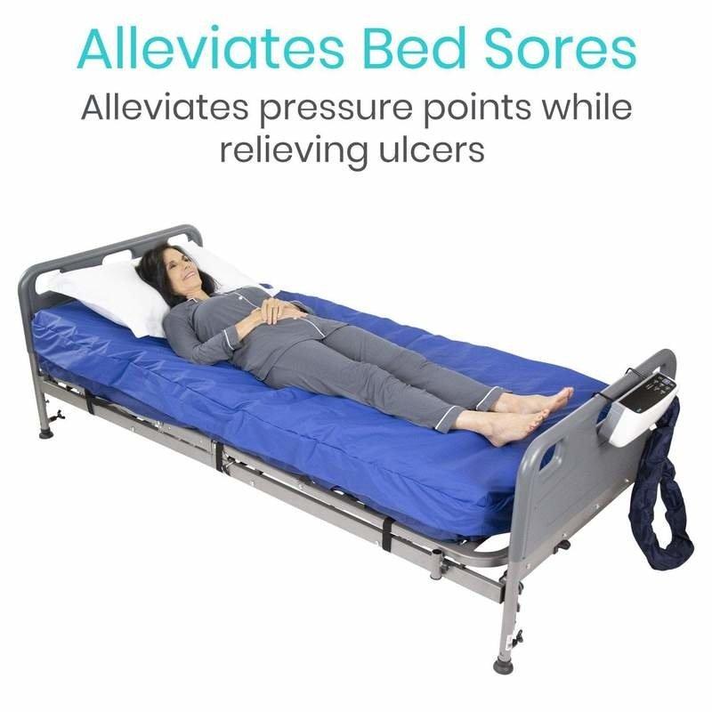 "Vive Health Vive 8"" Alternating Pressure Air Mattress System"