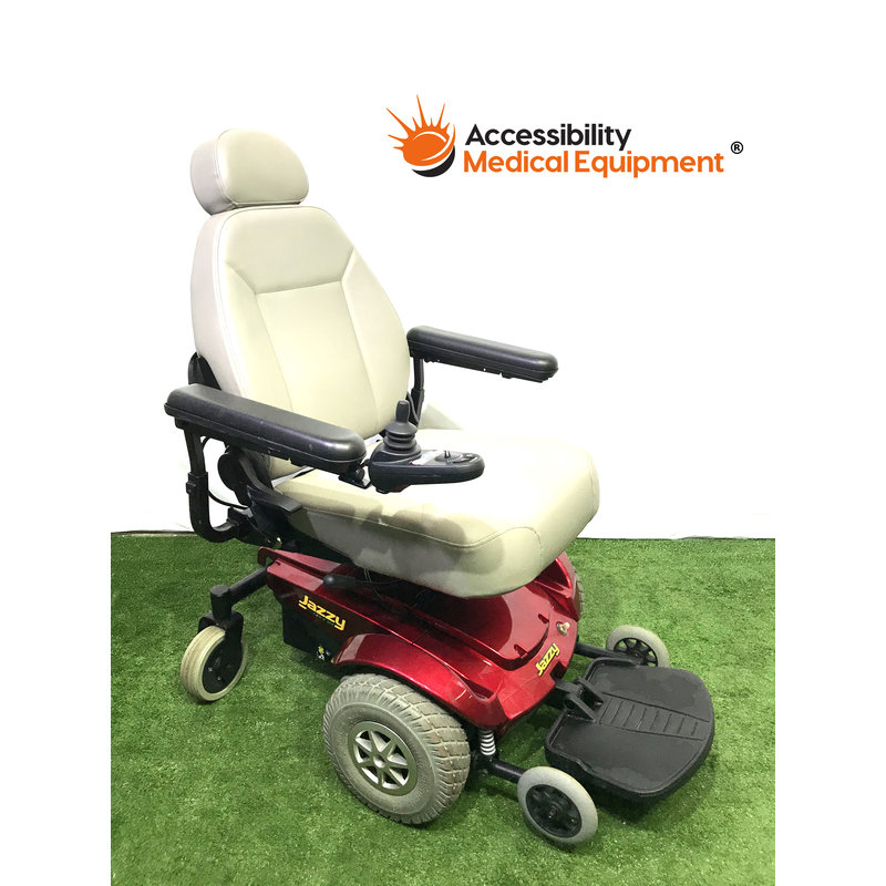 "Refurbished Pride Jazzy Select GT Power Chair with 18"" Seat Width: Needs Batteries"