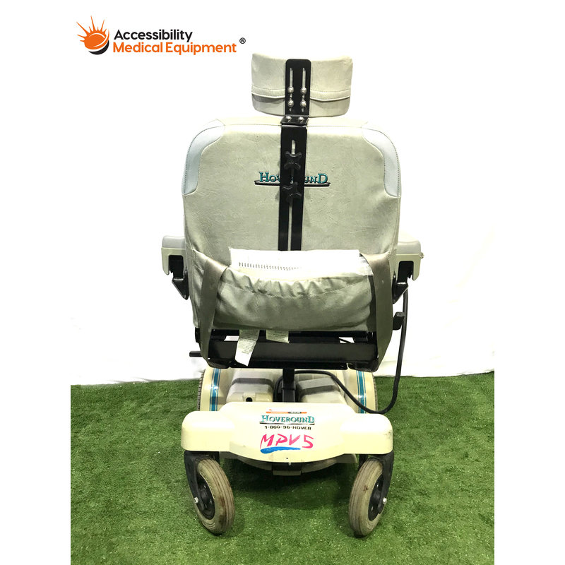 "Refurbished HoveRound MPV5 Power Chair with Head Rest 18"" Seat Width: Needs Batteries"