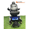 "Refurbished Blue Jazzy Select Power Chair with 18"" Seat Width: Needs Batteries"