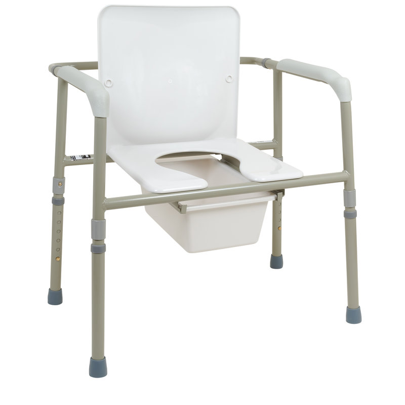 ProBasics ProBasics Bariatric Three-in-One Commode, 450lb Weight Capacity