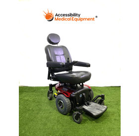 "Refurbished Pride J6 power chair with 18"" seat and working batteries"
