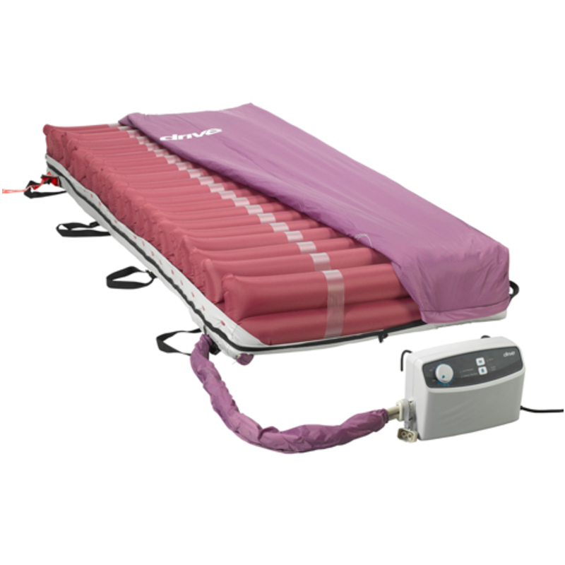 "Drive Med-Aire 8"" Alternating Pressure Low Air Loss Mattress"