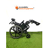 """Refurbished Quickie SR45 Tilt in Space 20"""" Wheelchair with Elevating Leg Rests"""