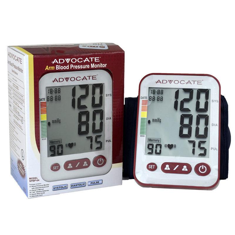 Pharma Supply Advocate® Upper Arm Blood Pressure Monitor