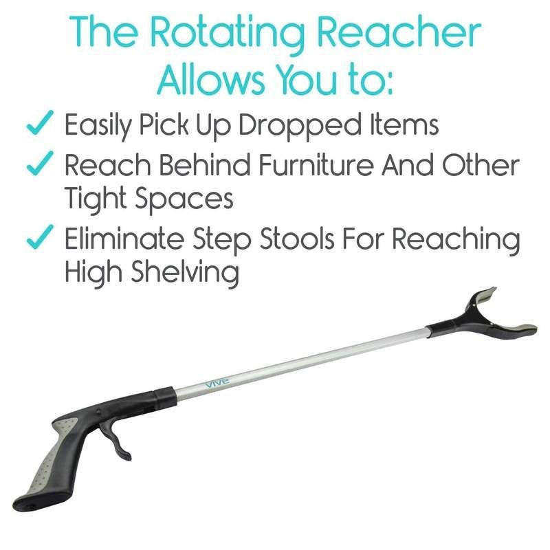 Vive Health Rotating Reacher Grabber
