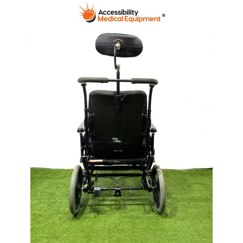 "Refurbished Quickie Iris SE Tilt in Space Manual Wheelchair 20"" Seat"