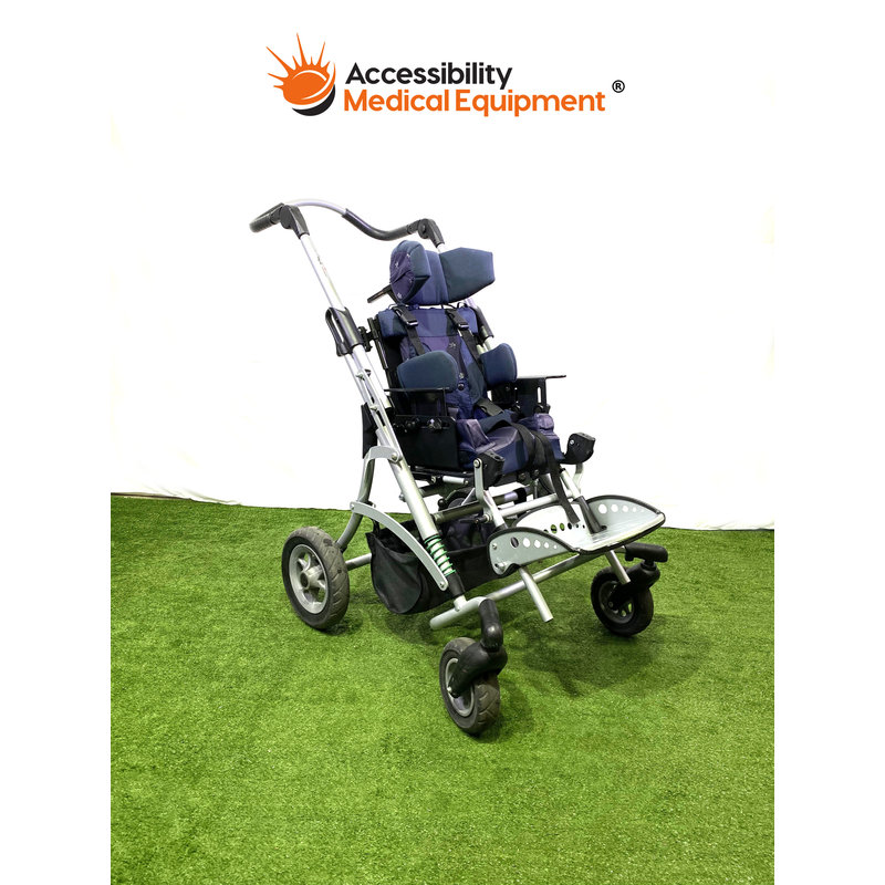 Refurbished Otto Bock Adaptive Stroller with Additional High Low Base