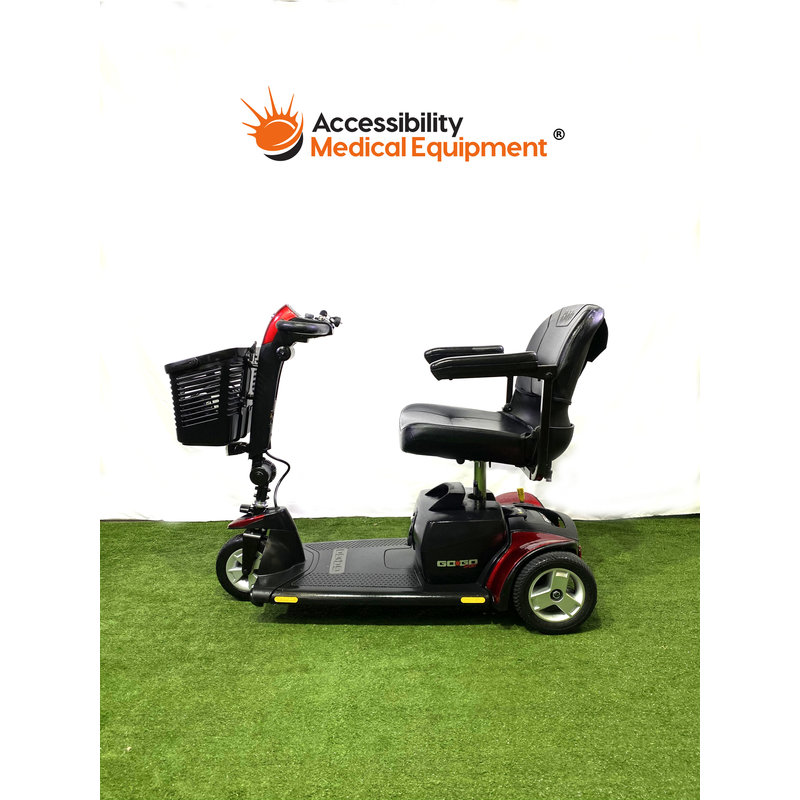 Refurbished Pride GoGo Sport Portable Three Wheel Scooter - Needs Batteries