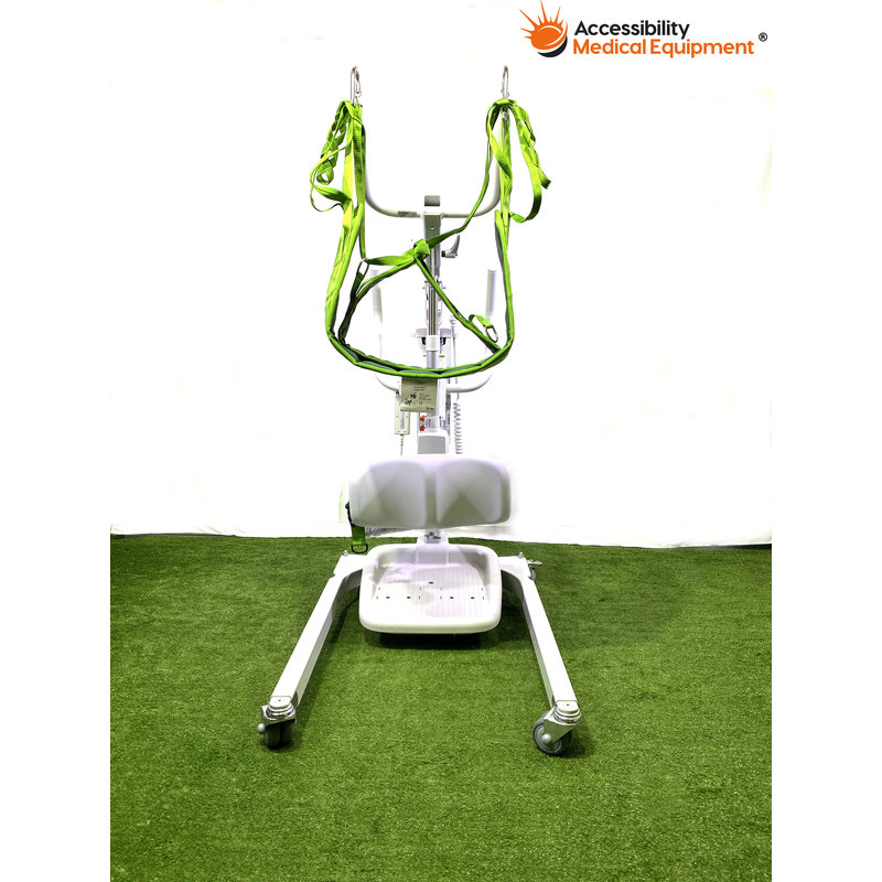 Refurbished Like Sabina II Electric Sit to Stand Lift Combination Patient Lift with Batteries/Slings Included