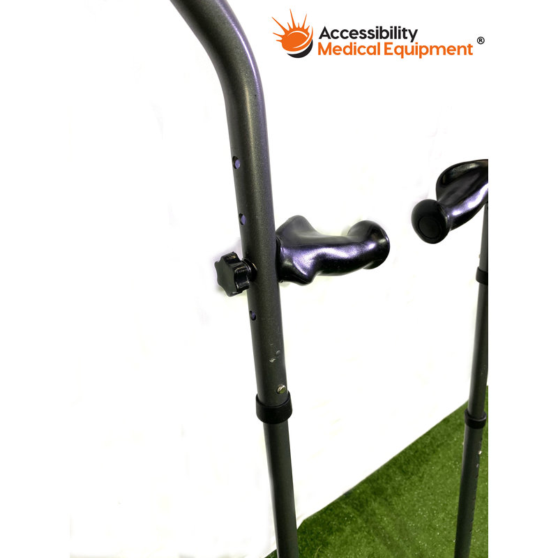 Refurbished Millenial Extra Tall Padded Crutches - Adjustable Height