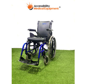 Refurbished Quickie Rigid Frame Foldable Wheelchair 17""