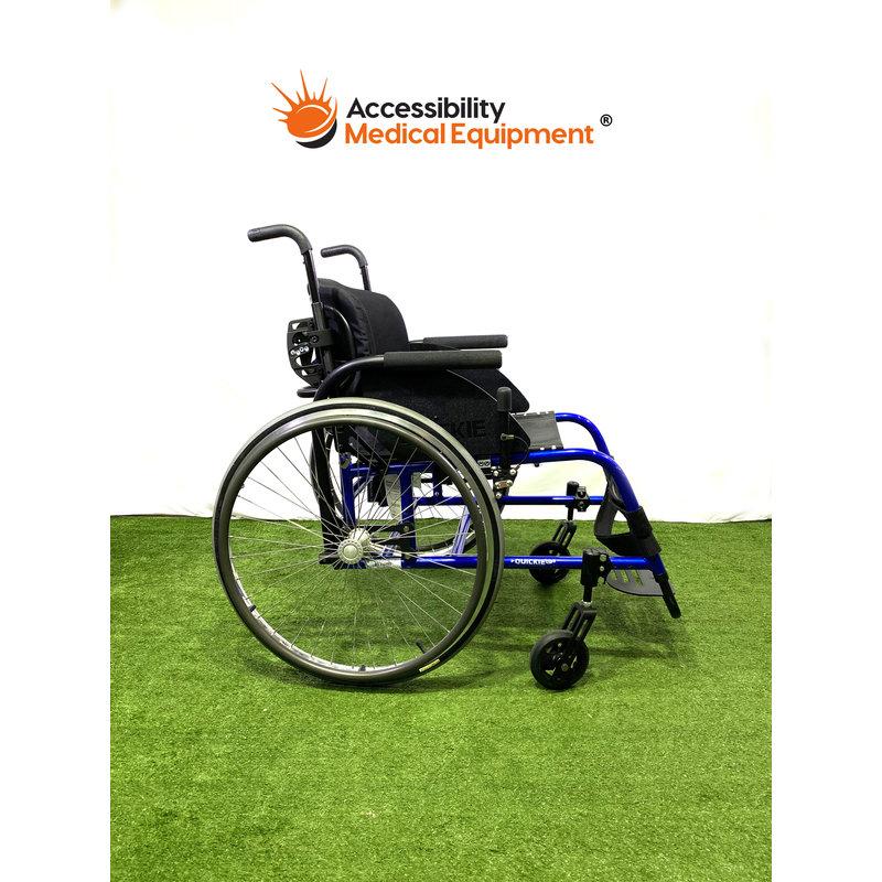 "Refurbished Quickie GP Wheelchair 18"""