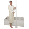 Stander Security Transfer Pole With Grab Bar