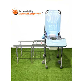 Refurbished Drive Ultima Inspired Pediatric Bath Transfer System with Commode Opening