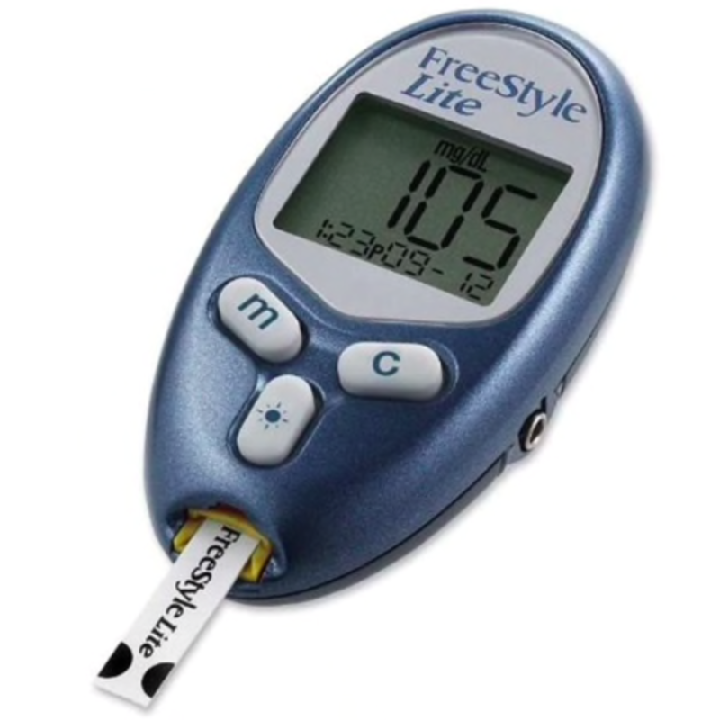 As-Is Diabetes Monitoring Kit - Batteries not Included