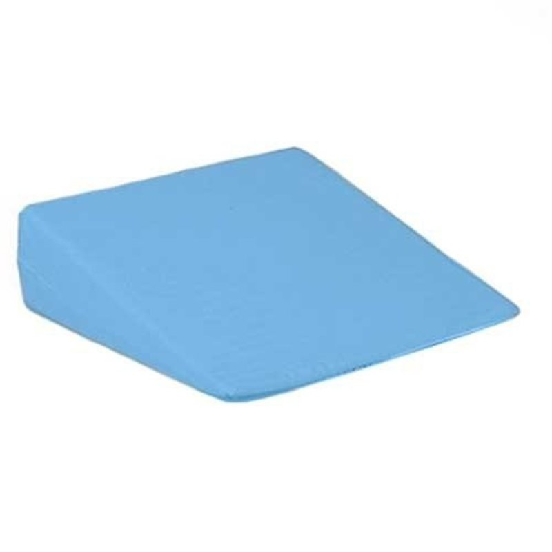 "Hermell Hermell Products Slant Bed Wedge 23"" x 21"" x 11"" Blue and White, Poly/Cotton"