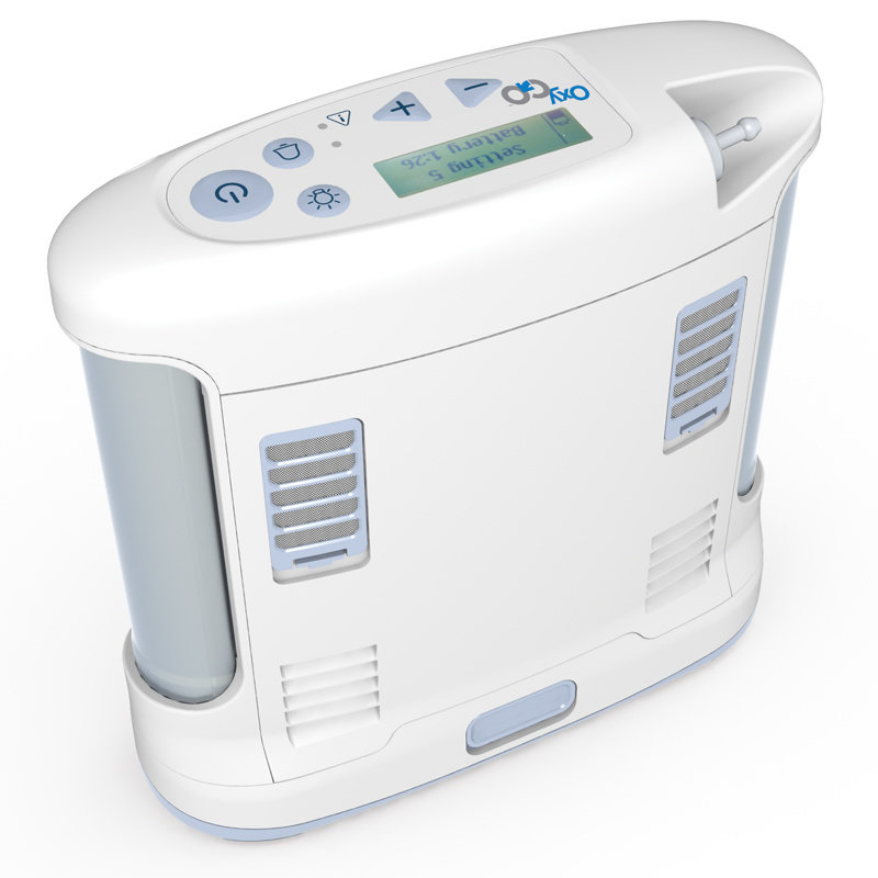 OxyGo OxyGo Portable Oxygen Concentrator System with 8 Cell Battery