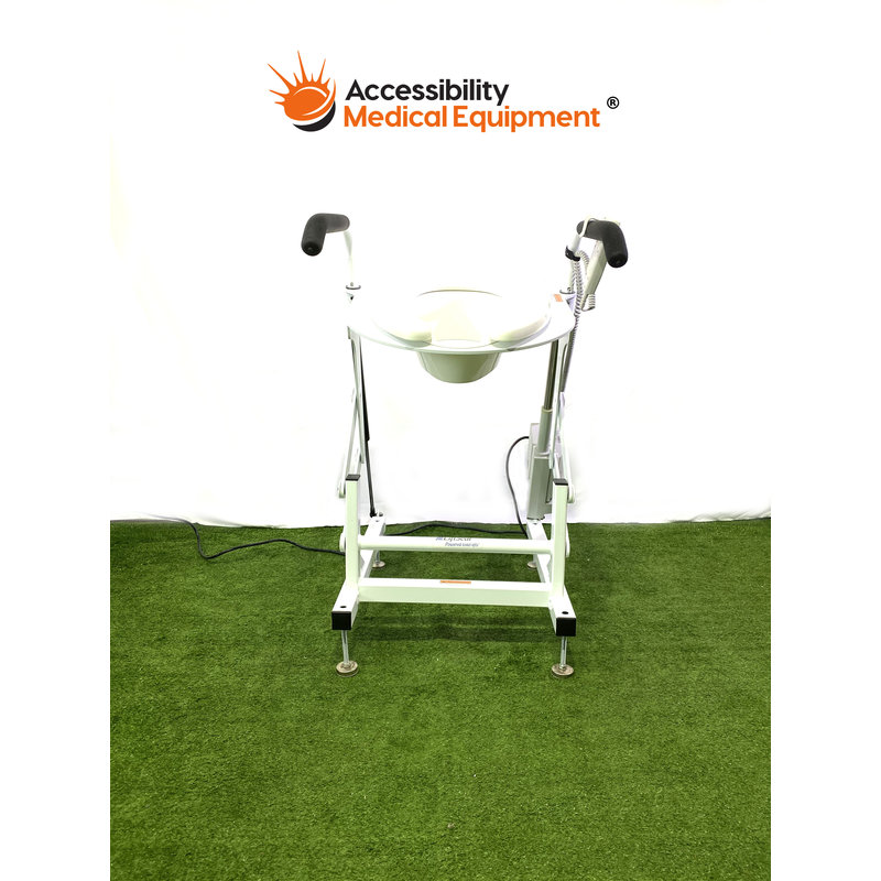 Refurbished LiftSeat Independence II Brand Power Toilet Lift with Remote