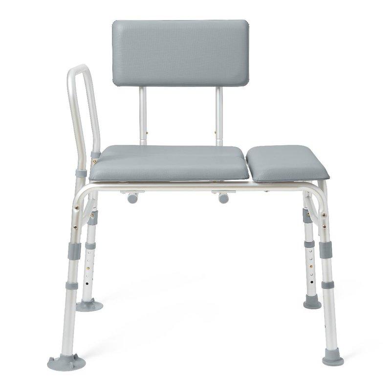 Medline Medline Padded Transfer Bench, 400 lb. Weight Capacity