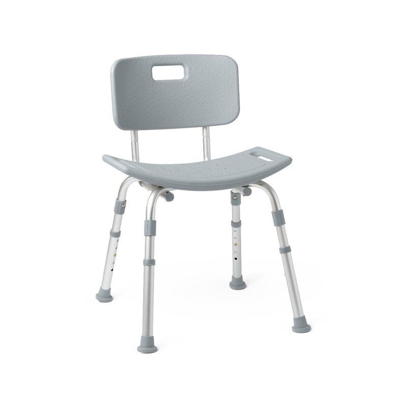 Medline Medline Shower & Bath Chair with Back
