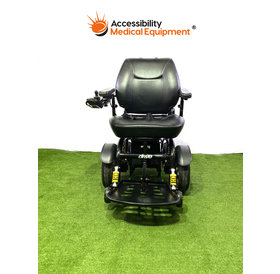 "Refurbished Drive Trident HD Bariatric Power Chair with Batteries 22"" Seat"