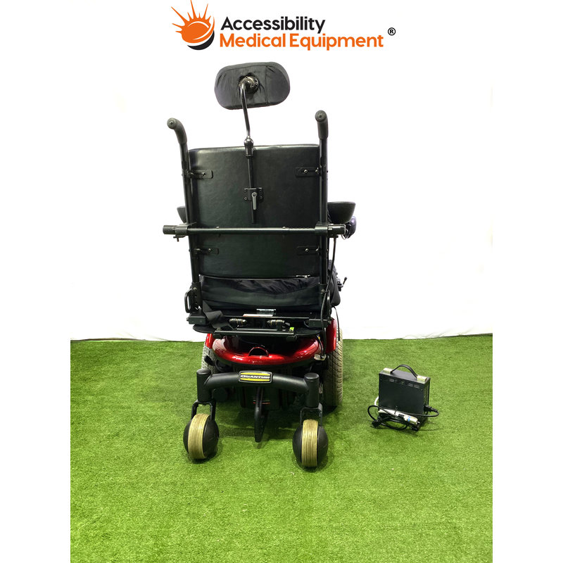 Refurbished Pride Quantum 6000 Power Chair with Batteries and Power Tilt