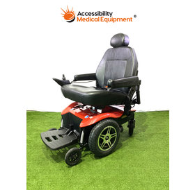 "Refurbished Jazzy Select HD Bariatric Power Chair with Batteries - 22"" Seat"