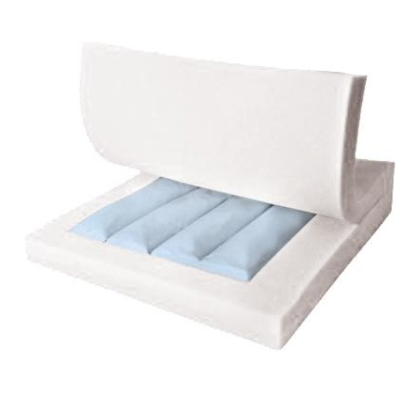 Medline Medline Gel Foam Pressure Redistribution Cushion for Wheelchair