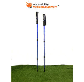 Refurbished Anti-Shock Telescoping Walking Pole - Pair