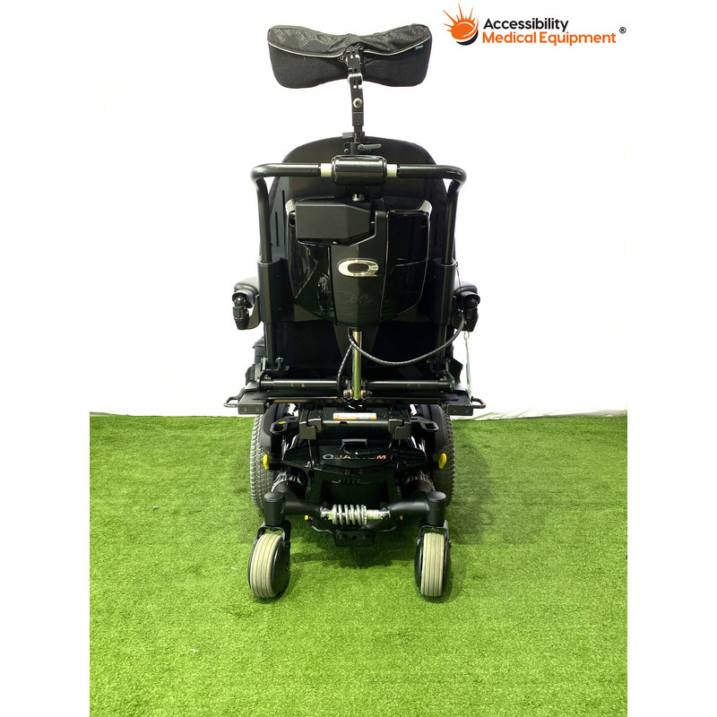 Refurbished Quantum Q6 Edge Rehab Power Chair with Tilt and New Batteries