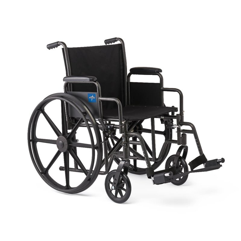 Medline Medline Guardian K1 Wheelchair With Swing-Away Footrests