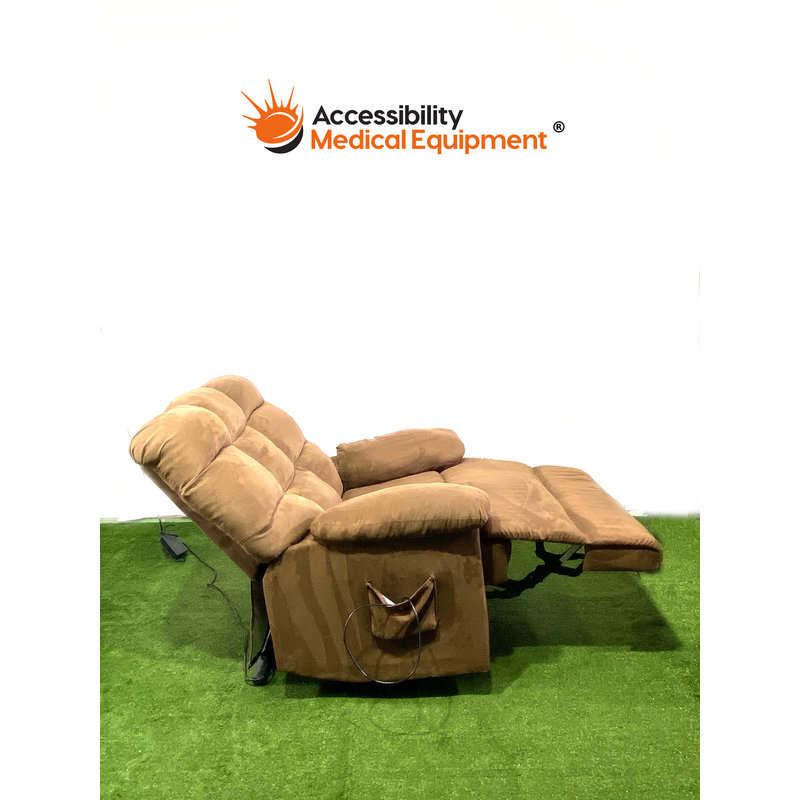 Refurbished Lift Recliner Chair (Brown)