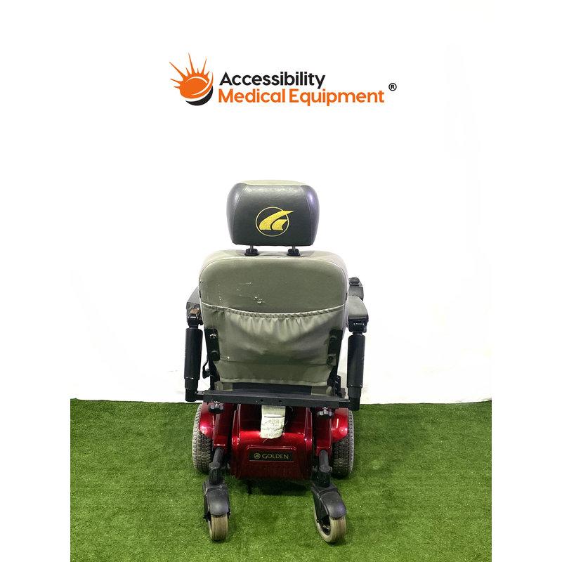 Refurbished Golden Compass Sport Power Wheelchair - NEW BATTERIES
