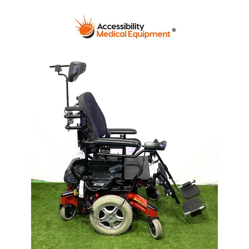 Refurbished Invacare Storm TDX3 Power Wheelchair w/ Tilt (Working Batteries)