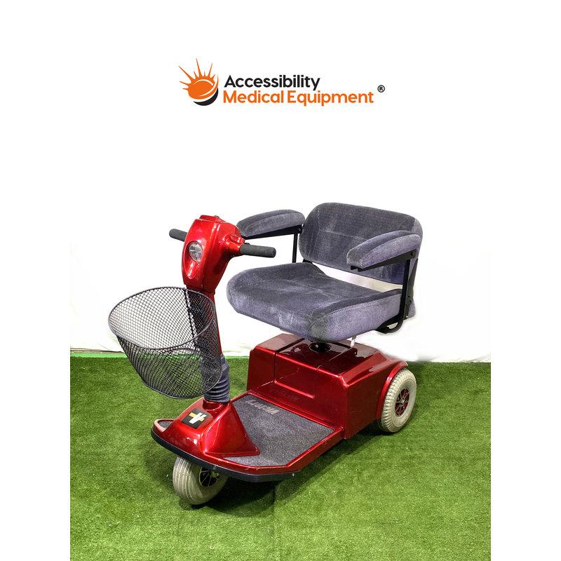 Refurbished Pride Victory 3 Wheel Power Scooter - NEW BATTERIES