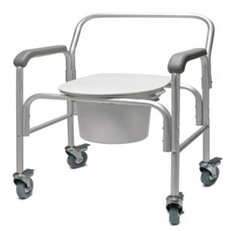 Refurbished Rolling Commode
