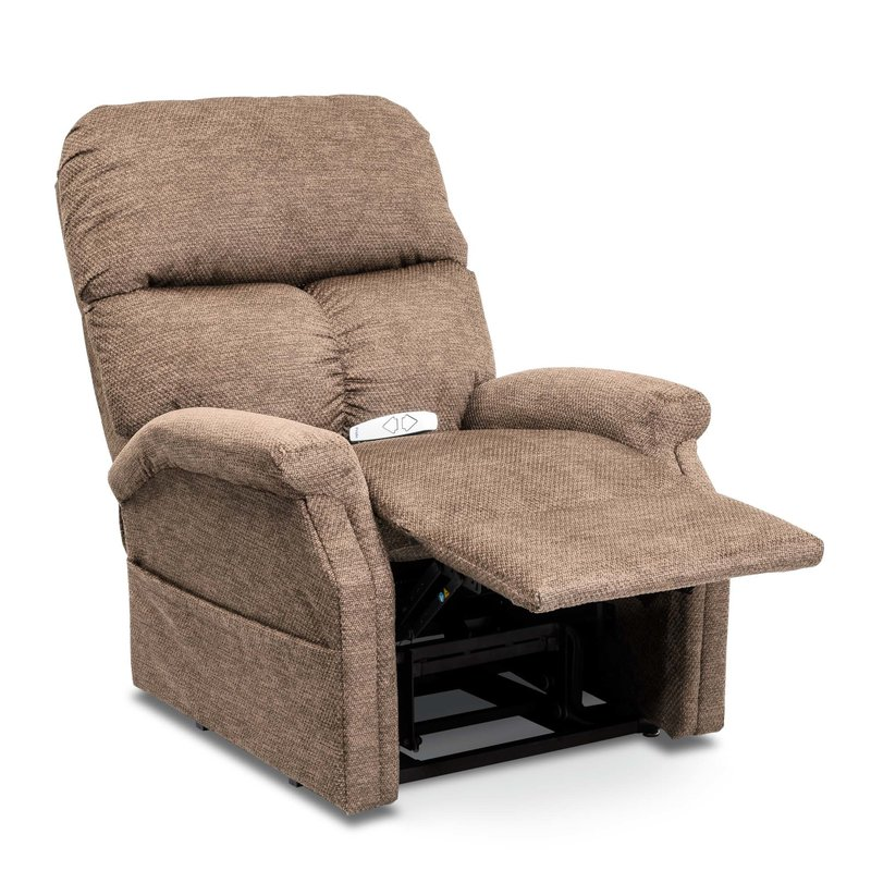 Pride Pride Essential Collection Lift Chair, Model LC-250, Stone Fabric