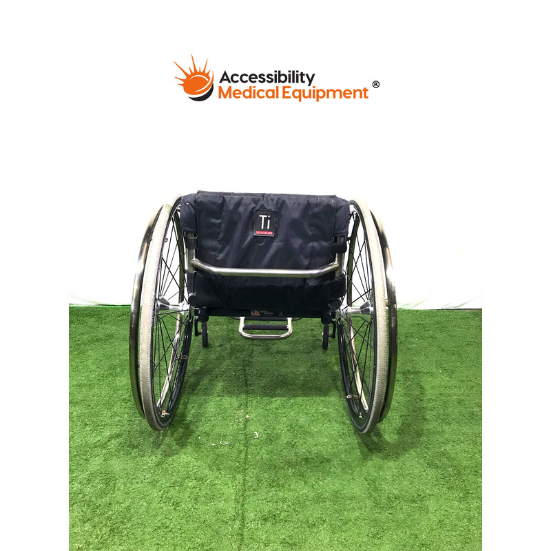 """Refurbished TiLite Sports Wheelchair with 14""""w x 16""""d seat"""