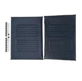 """Medline Medline Upholstery Kit For 24"""" Wheelchair, Blue"""