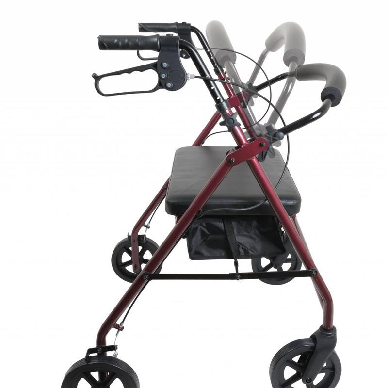 ProBasics ProBasics Aluminum Frame Bariatric (Heavy Duty) Rollator With Wide Seat