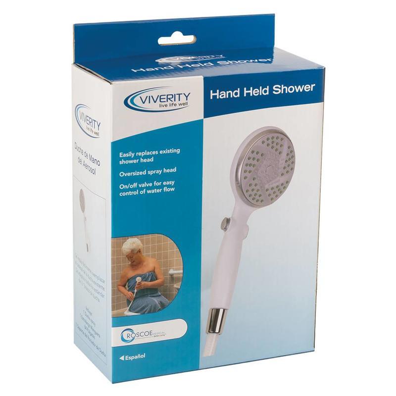 Viverity Viverity Massaging Shower Head