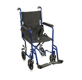 "ProBasics ProBasics Aluminum Transport Wheelchair - 19"""
