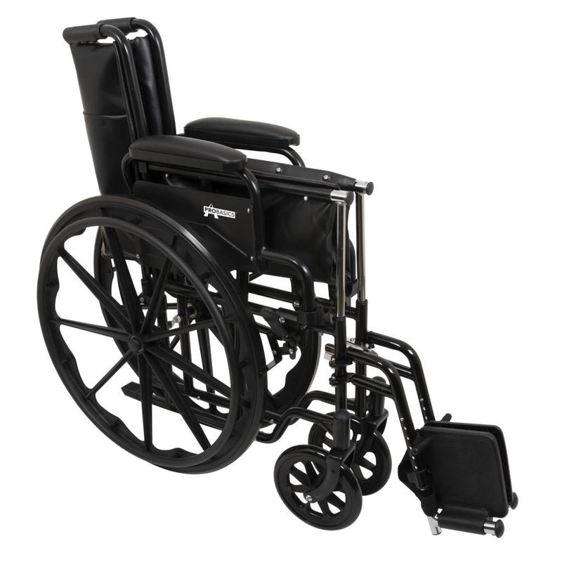 ProBasics ProBasics K1 Manual Wheelchair With Swing Away Foot Rests