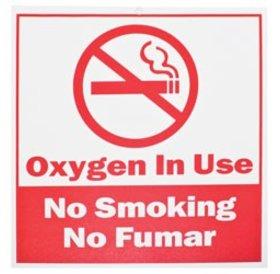 No Smoke Mandatory Signage