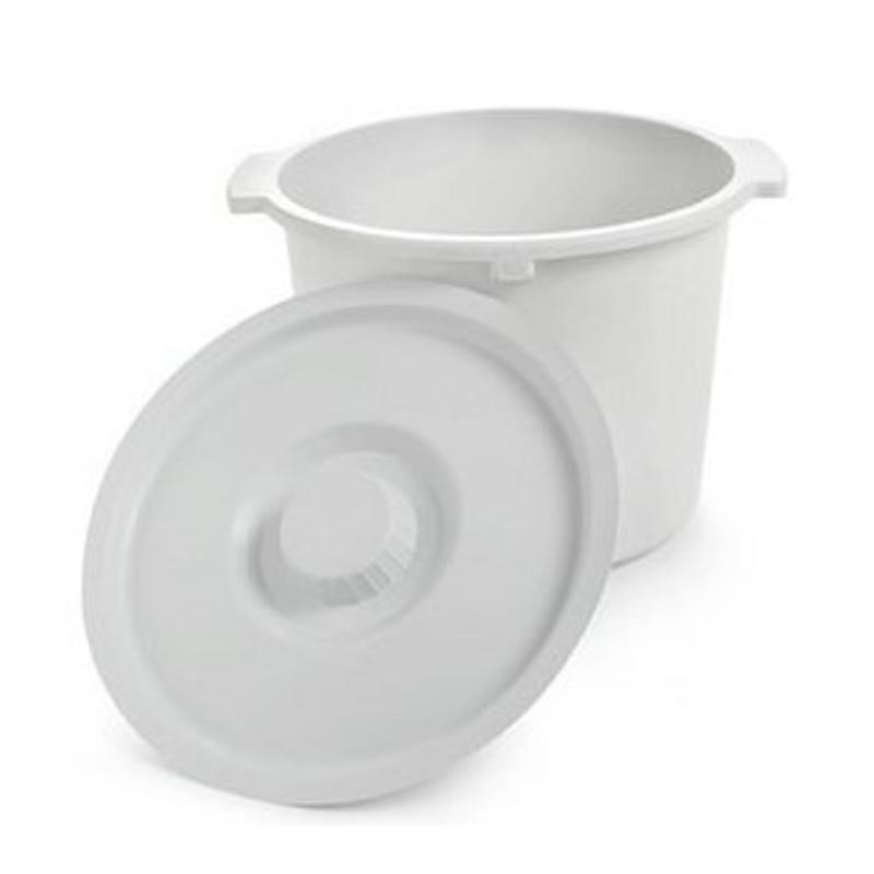 Universal Commode Pail With Lid