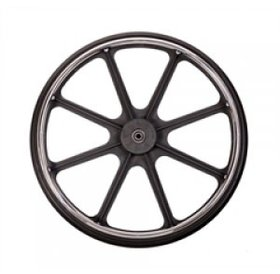 Medline Rear Wheel Assembly for Extra Wide Medline Excel Wheelchair with Handrim