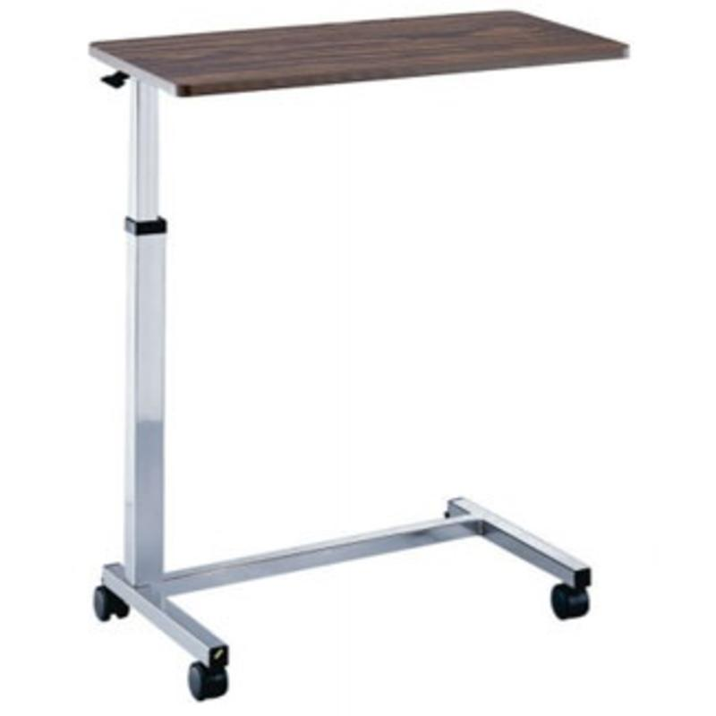 Roscoe Medical Non-Tilt Overbed Table, Chrome